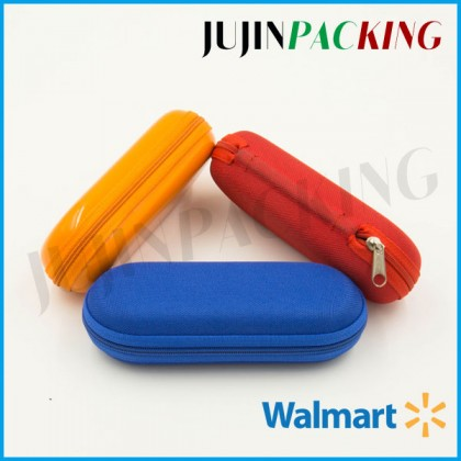 Different color mixed eva eyewear case glasses case
