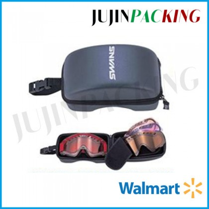 Brand New EVA zippered Goggle Case