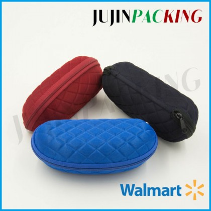 Soft sponge surface eva sunglass case