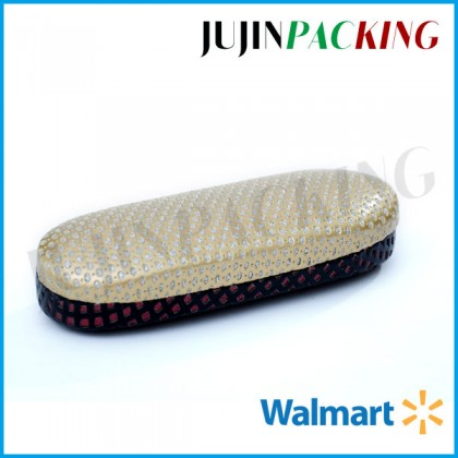 Spot crystal eyeglass cases for women